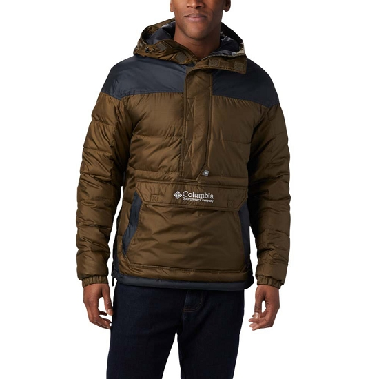 Columbia Columbia Lodge Pullover - Olive Green