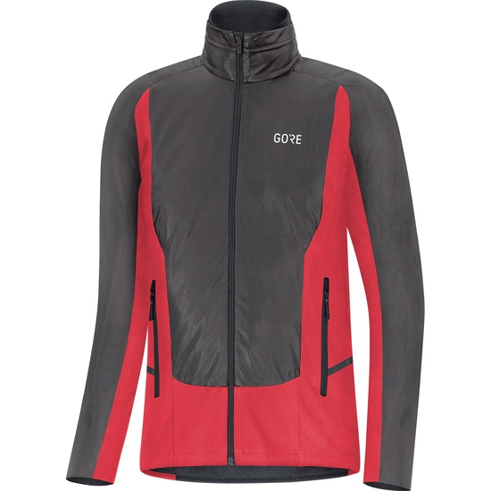 Gore X7 Gtx Infinium Soft Lined Jacket W - Black/Red