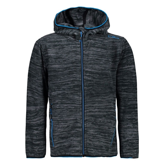 Campagnolo Jacquard Light Fix Hood Boy - Graffite Melange
