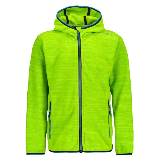 Campagnolo Jacquard Light Fix Hood Boy - Lime Green Melange