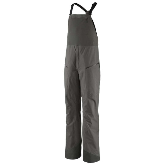 Patagonia Snowdrifter Bibs - Forge Grey