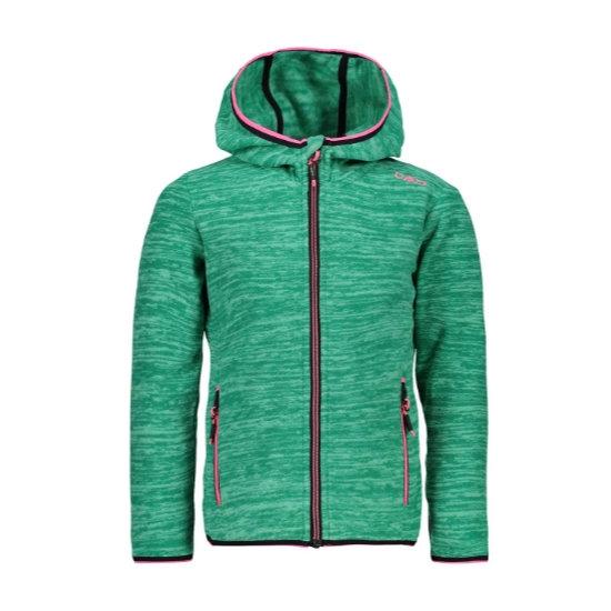 Campagnolo Fix Hood Jaquard Fleece Girl - Aquamint