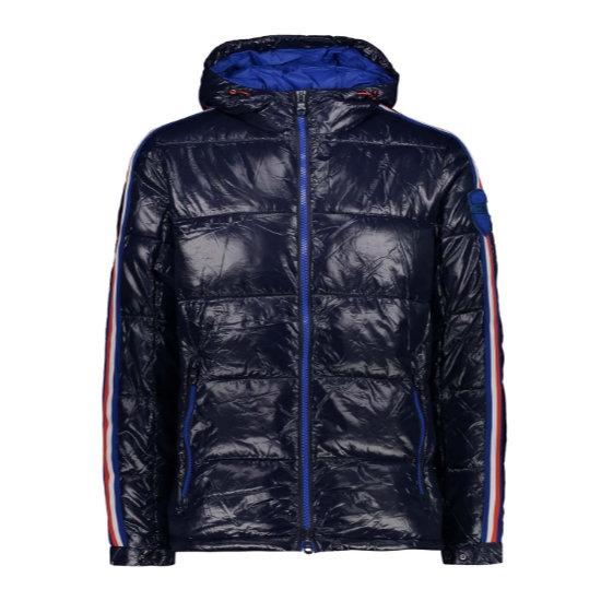Campagnolo Shiny Nylon Jacket - Black Blue