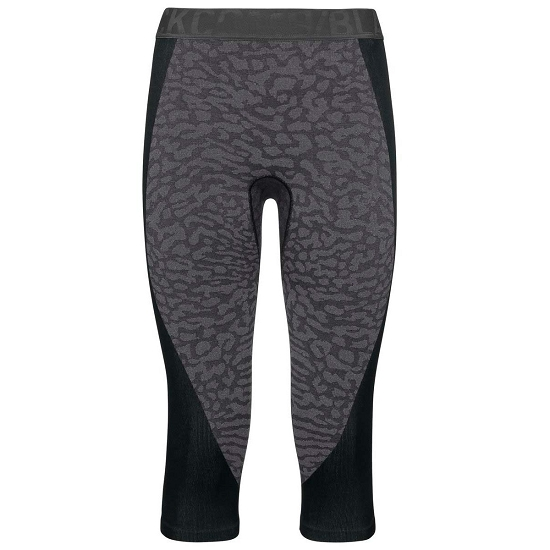 Odlo BlackComb 3/4 Baselayer Pants W - Black