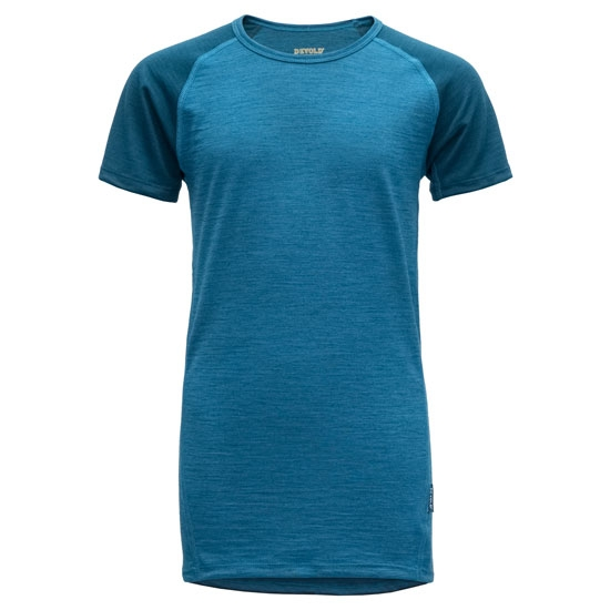 Devold Breeze T-Shirt Jr - Blue