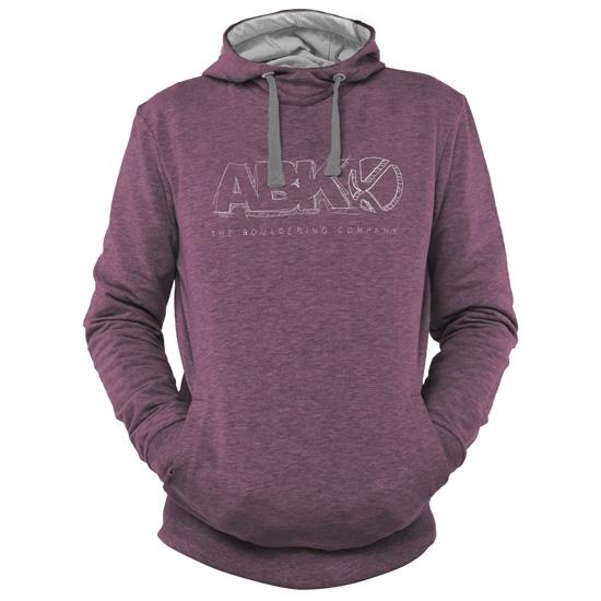 Abk Brand Hoodie - Dark Fig