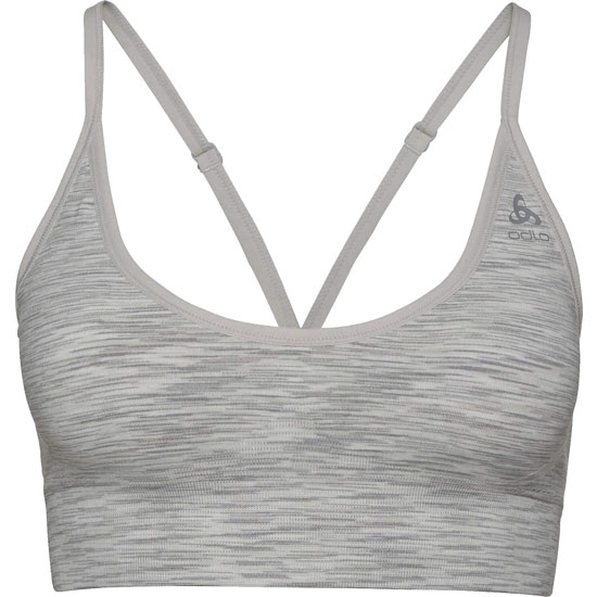 Odlo Sports Bra Padded Seamless Soft 2.0 Light W - Light Grey