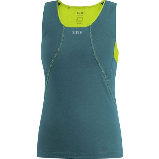 Gore R3 SS Shirt W - Dark Nordic/Citron