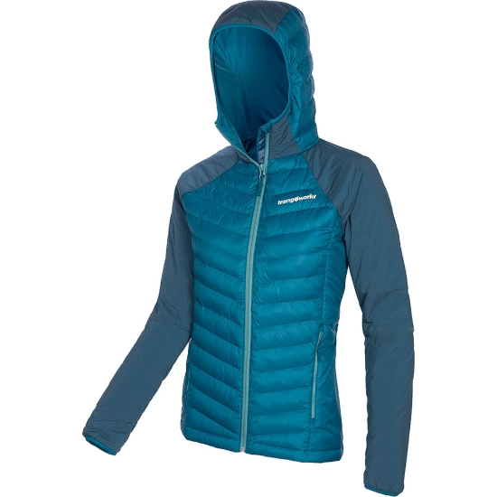 Trangoworld Mussara Jacket W - Blue Sea