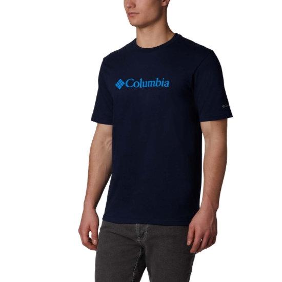 Columbia CSC Basic Logo SS - Collegiate Navy