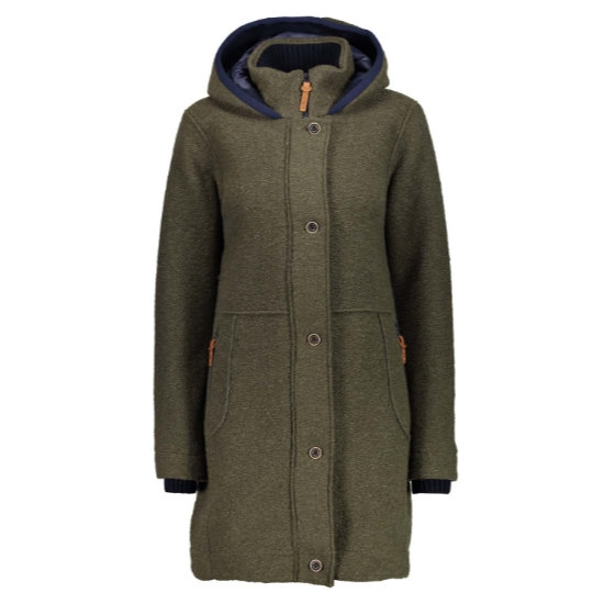 Campagnolo Wooltech Parka Hood W - Olive