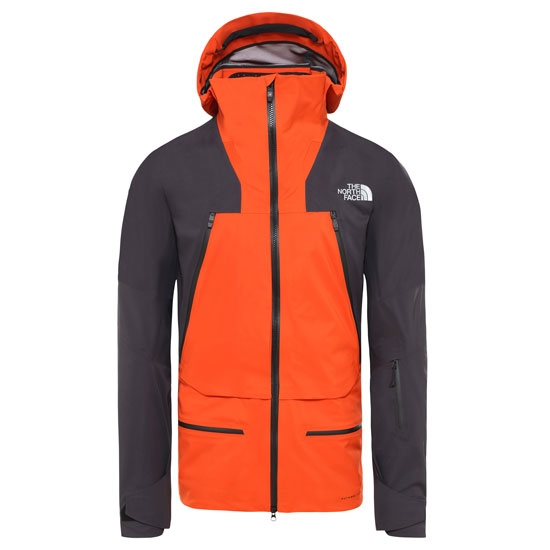 The North Face Summit Purist Jacket -  Papaya Orange/Weathered Black