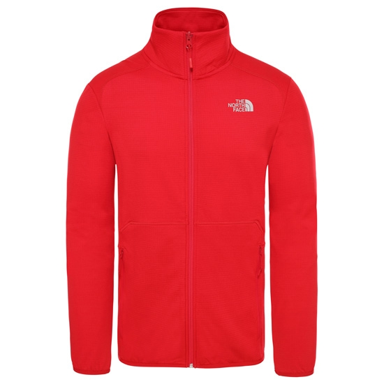 The North Face Quest FZ Jacket - Red