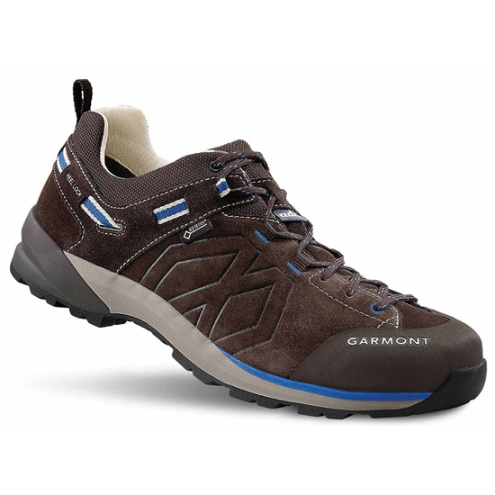 Garmont Santiago Low GTX - Dark Brown/Blue