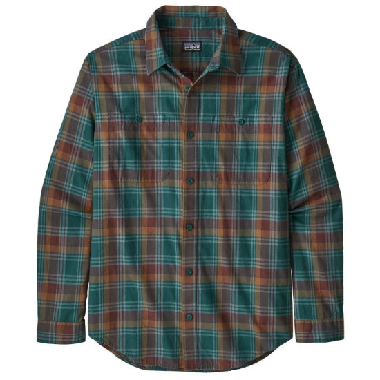 Patagonia L/S Pima Cotton Shirt - Ridgeline-New Navy