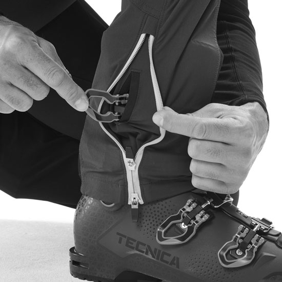 Millet Extreme Touring Fit Pant - Photo of detail