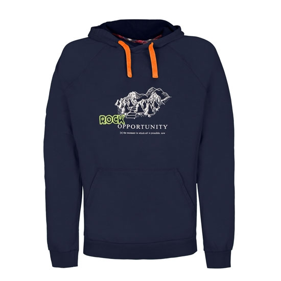Rock Experience On The Road Hoodie - Blue Night
