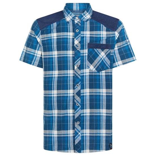 La Sportiva Longitude Shirt - Opal/Neptune