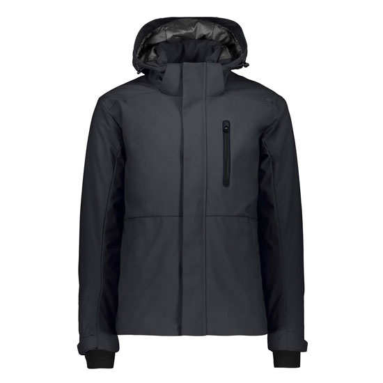 Campagnolo Light Softshell Zip Hood - Antracite
