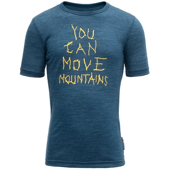 Devold Moving Mountain Kid Tee - Subsea