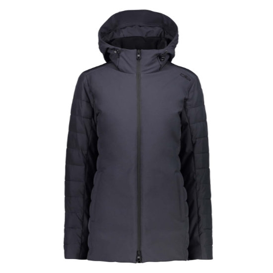 Campagnolo Light Softshell Coat Hood W - Antracite