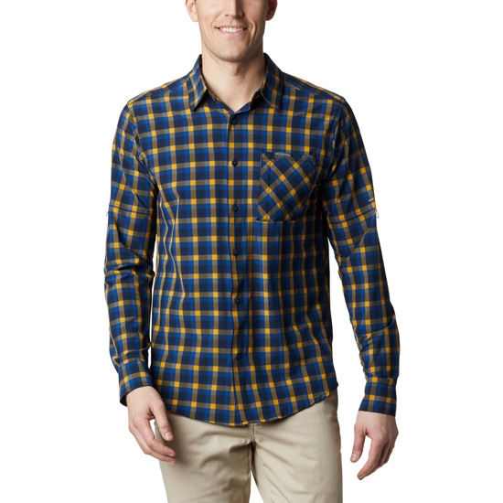 Columbia Triple Canyon LS Shirt - Azul Mini Tonal