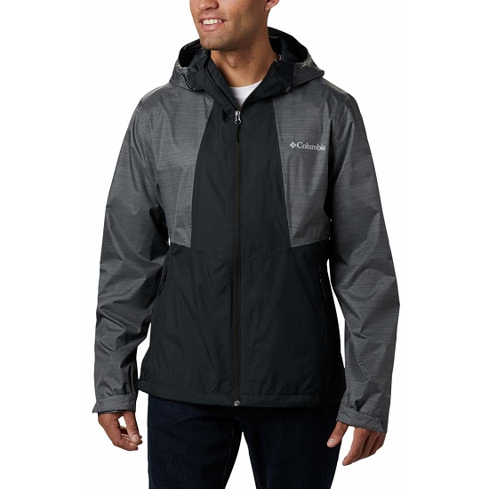 Columbia Inner Limits Jacket - Black/Graphite Heather