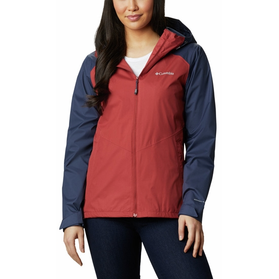 Columbia Inner Limits II Jacket W - Dusty Crimson