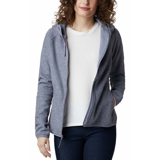 Columbia Pacific Point FZ Hoodie W - New Moon