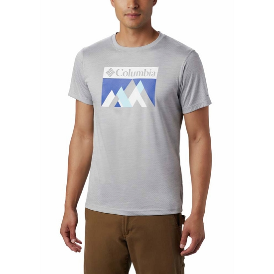 Columbia Zero Rules Ss Graphic Shirt - Columbia Grey
