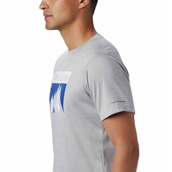 Columbia Zero Rules Ss Graphic Shirt - Photo of detail
