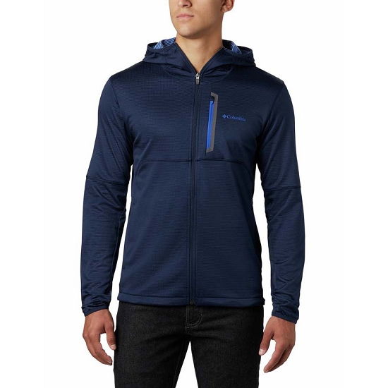 Columbia Tech Trail FZ Hoodie - Collegiate Navy