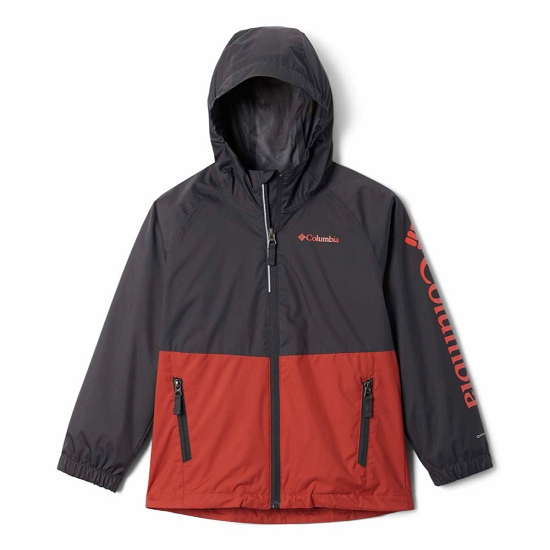 Columbia Dalby Springs Jacket Youth - Carnelian Red