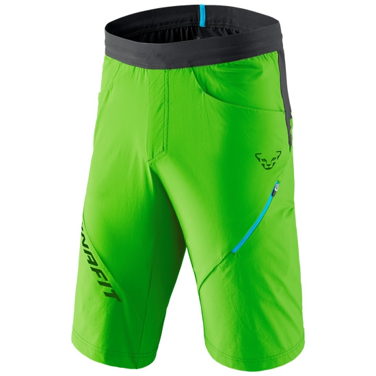 Dynafit Transalper Hybrid Shorts - Lambo Green/Black Out