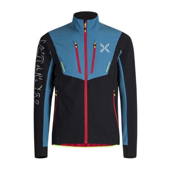 Montura Ski Style Jacket - Nero/Blu Ottanio