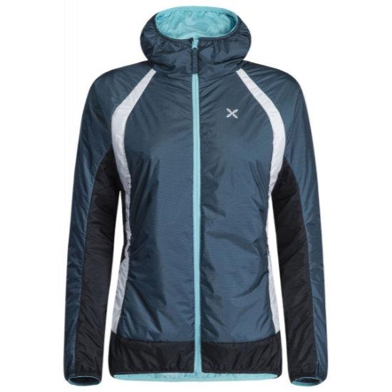 Montura Vulcan Hoody Jacket W - Blu Cenere/Ice