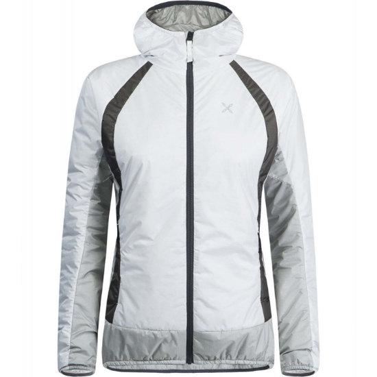 Montura Vulcan Hoody Jacket W - Bianco/Grigio