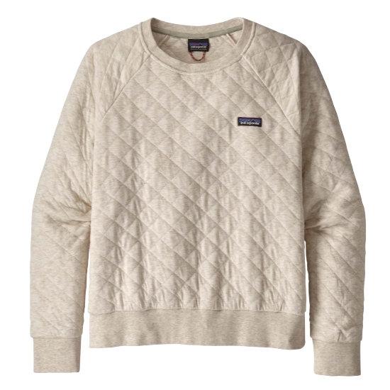 Patagonia Organic Cotton Quilt Crew W - Dyno White