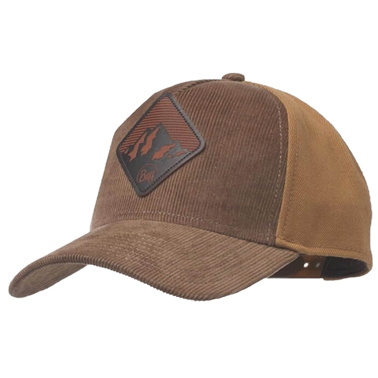 Buff Snapback Cap Nyle Dull Gold - Brown