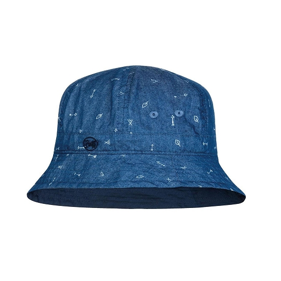 Buff Bucket Hat Kids - Arrows Denim