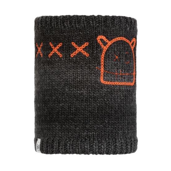 Buff Monster Knitted Neckwarmer Jr - Black