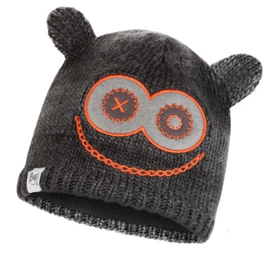 Buff Monster Knitted Hat Jr - Black