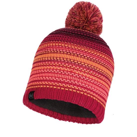 Buff Neper Knit Polar Hat - Bright Pink