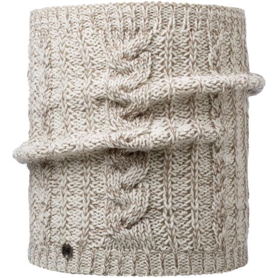 Buff Darla Knitted Neckwarmer - Darla Cru