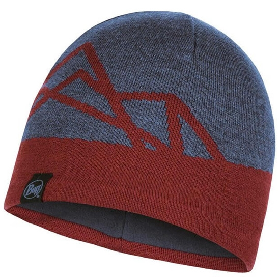 Buff Yost Knitted Hat - Navy