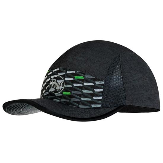 Buff Run Cap R-Geotrik Black - Black