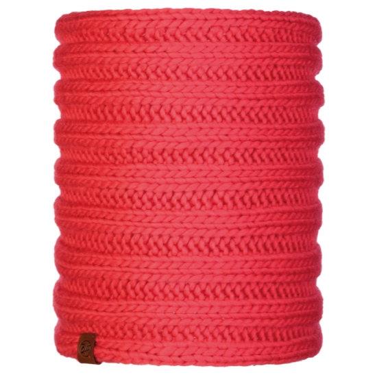 Buff Vanya Knitted Neckwarmer - Blossom Red