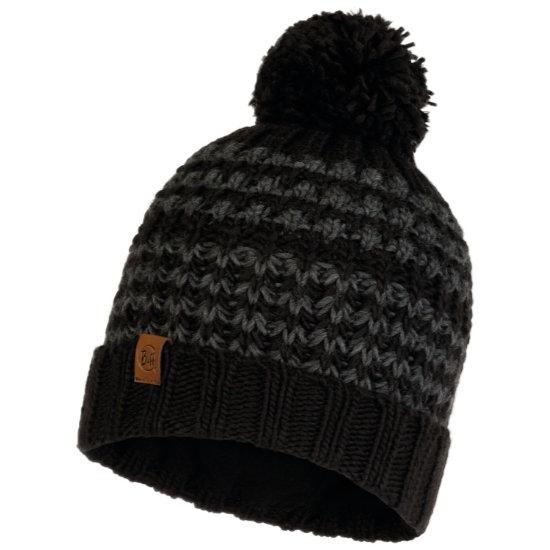 Buff Kostik Knitted Hat - Black