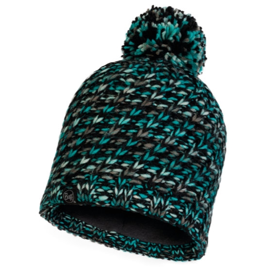 Buff Valya Knitted Hat - Turquoise