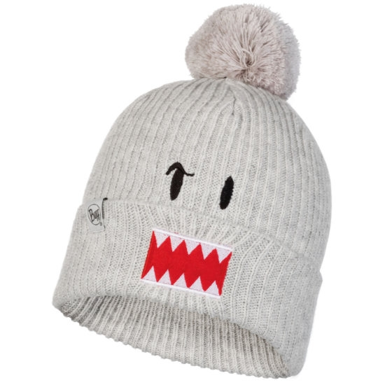 Buff Funn Knitted Hat Jr - Ghost